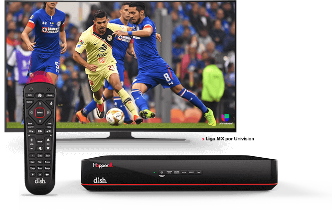 DISH Hopper DVR - Control remoto de voz - Chicago, IL - HD SATELLITE ENTERPRISE INC. - Distribuidor autorizado de DISH