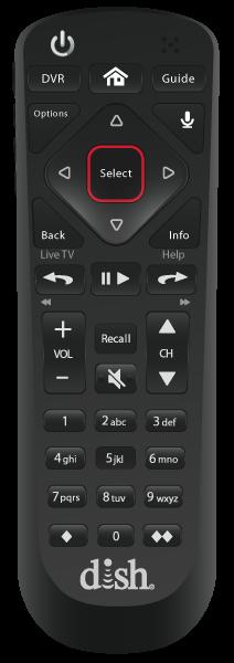 Control remoto de voz - Chicago, IL - HD SATELLITE ENTERPRISE INC. - Distribuidor autorizado de DISH